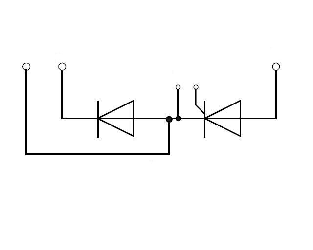 Диодно-тиристорный модуль