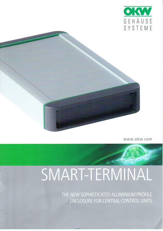 "OKW ""Smart-Terminal The new sophisticated aluminium profile"""