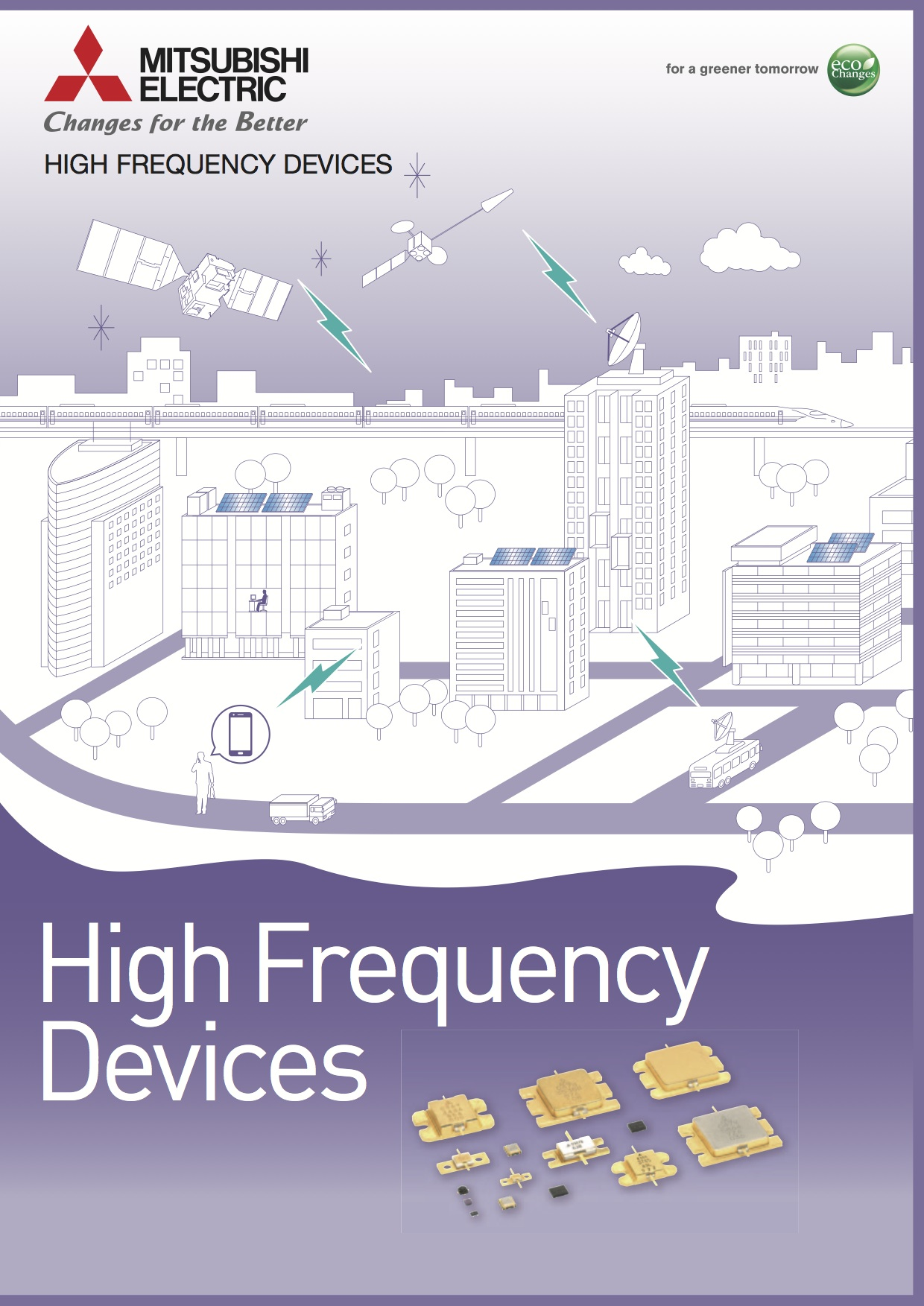 "Mitsubishi ""High Frequency Devices"""