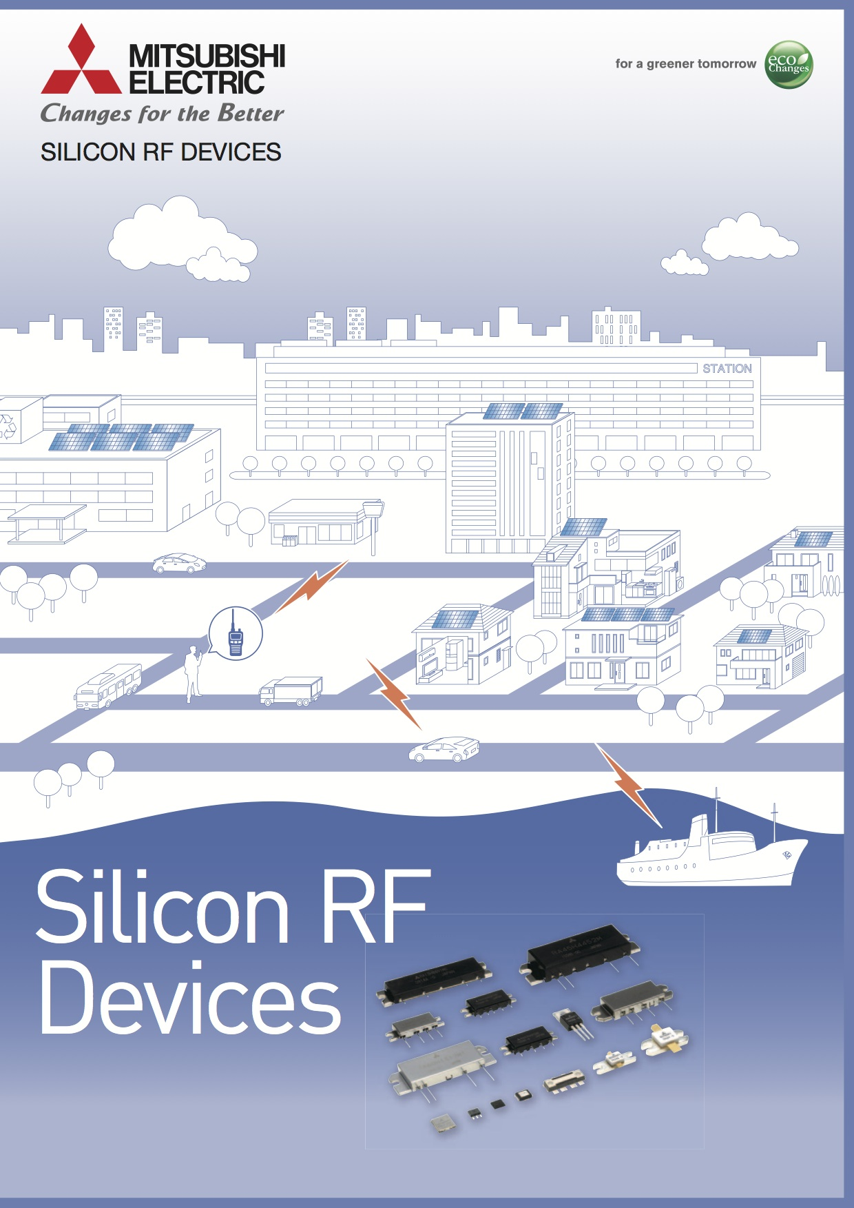 "Mitsubishi ""Si RF Devices"""