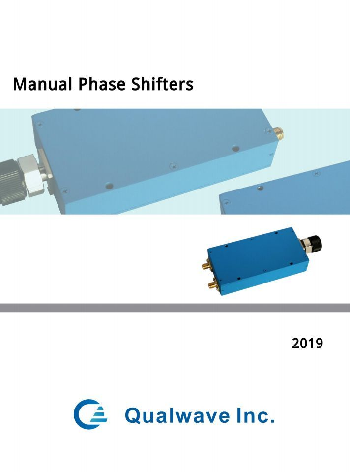 Qualwave Manual-Phase-Shifters
