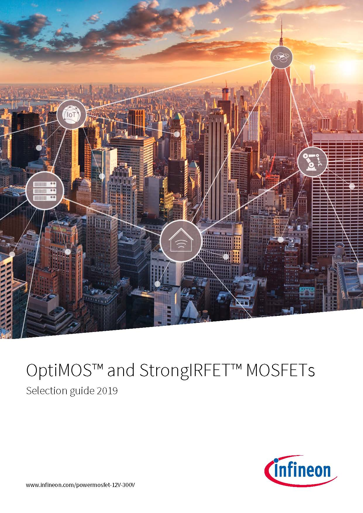 Infineon: Selection guide MOSFET OptiMOS and  StrongIRFET 2019