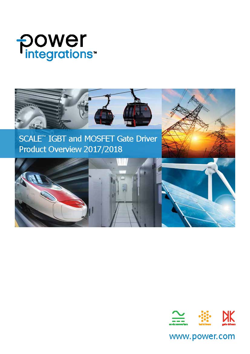 Power Integrations. SCALE™ IGBT and MOSFET Gate Driver